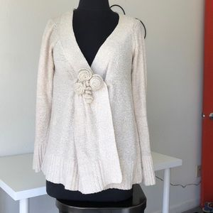 Front snap cardi